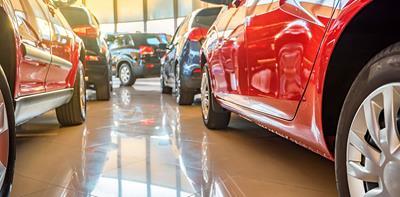 showroom new cars