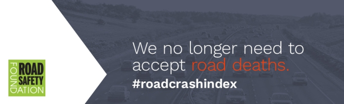 We no longer need to accept road deaths banner