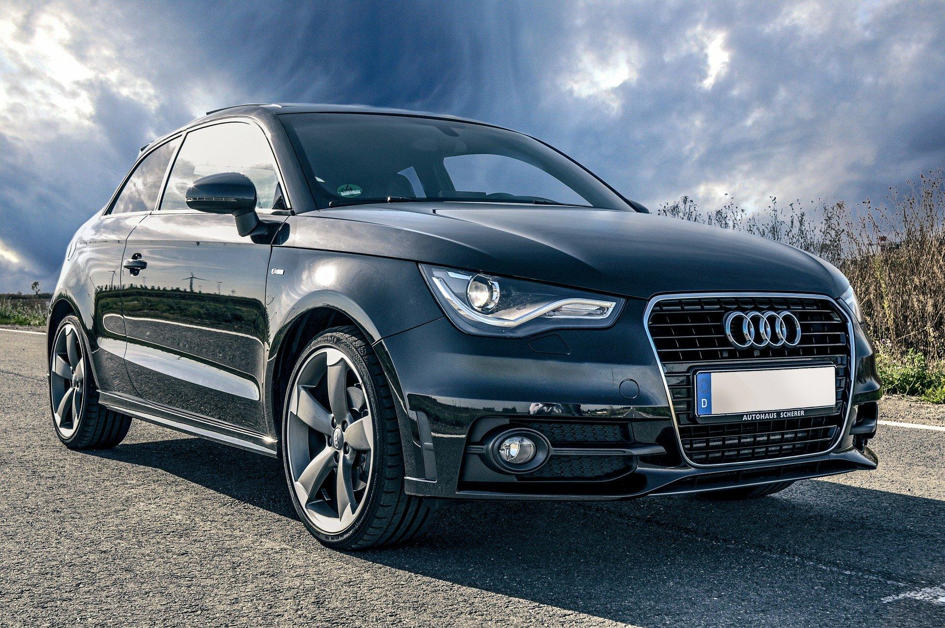 Black Audi A1