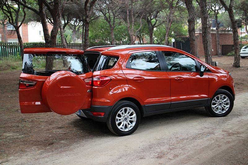 Orange Ford EcoSport