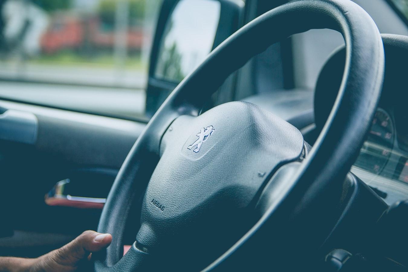 Peugeot steering wheel