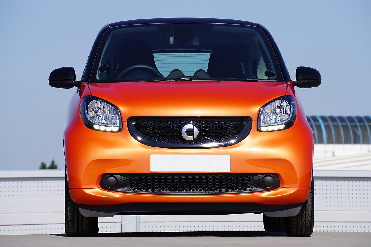 Orange Smart ForFour car
