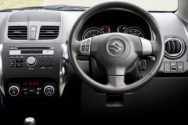 Suzuki swift steering wheel