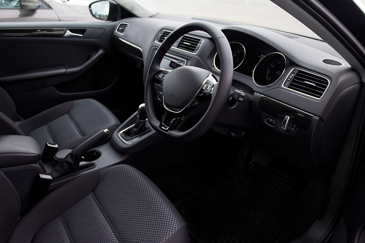 Vauxhall Astra car interior