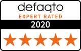Defaqto 5 Star rating logo 2020