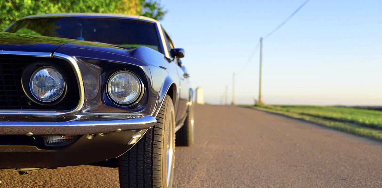 classic car road