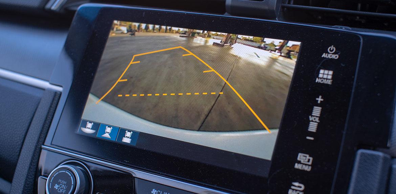 car reversing camera sensors