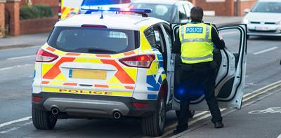 police car police officer