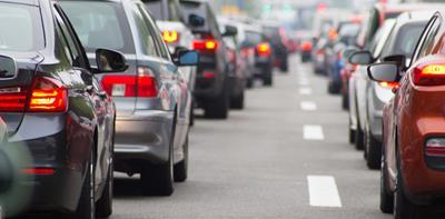 cars traffic jam